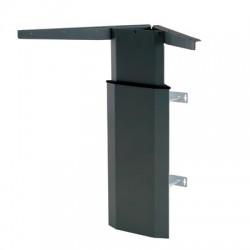 501-7 Electric Adjustable Height Desk Base (wall mount), Black Frame