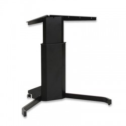 501-7 Electric Lift Adjustable Height Desk Base, Black Frame