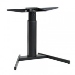 501-19V Electric Lift Adjustable Height Desk Base, Black Frame