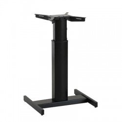 501-19H Electric Lift Adjustable Height Desk Base, Black Frame
