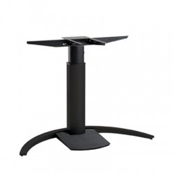 501-19C Electric Lift Adjustable Height Desk Base, Black Frame