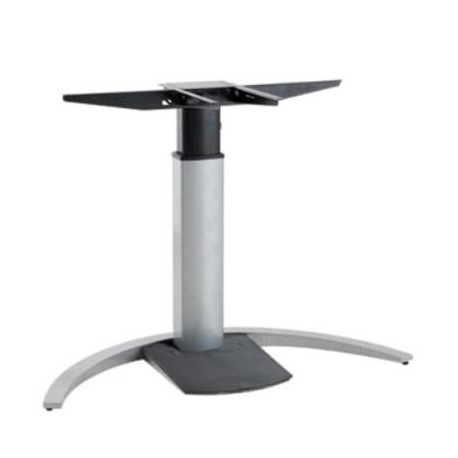 501-19C Electric Lift Adjustable Height Desk Base, Silver Frame