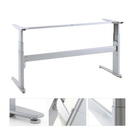 ConSet 501-27 8S144 Sit Stand Adjustable Height Electric Desk Base