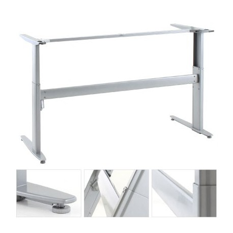 ConSet 501-25 8S152 Sit Stand Adjustable Height Electric Desk Base