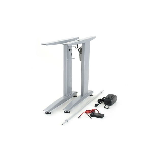ConSet 501 15 Electric Adjustable Height Desk Base, Width: Variable