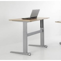 ConSet 501-17 Sit Stand Adjustable Height Electric Desk
