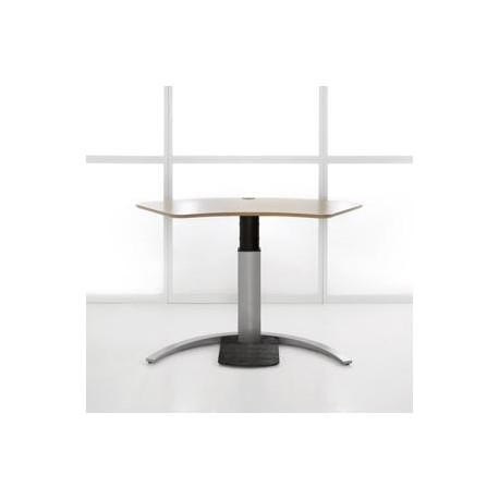 ConSet 501-19-120 Sit Stand Adjustable Height Electric Desk