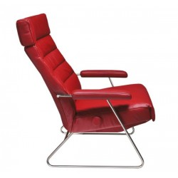 Adele Reclining Chair from Lafer - Leather Recliner