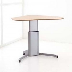 ConSet 501-7 Sit Stand Electric Lift Adjustable Height Desk