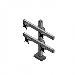 Innovative Bild 2 Over 2 LCD Monitor Mount