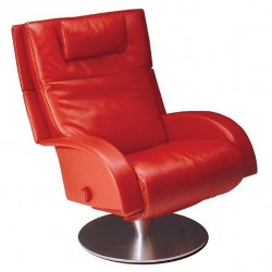 Victoria Reclining Chair from Lafer - Leather Recliner