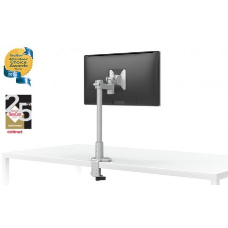 LCD Monitor Mount with Pole and Desk Clamp - EVOLVE-STUBBY