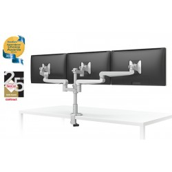 EVOLVE3-FF Triple LCD Monitor Desk Mount