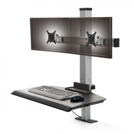 Innovative Winston Compact Dual Clamping Sit-Stand Workstation
