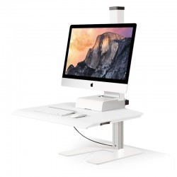 Innovative Winston Single Freestanding Sit-Stand Workstation