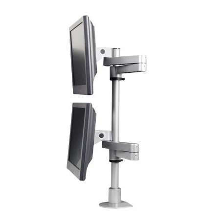Innovative 9130-D Long Reach Dual LCD Monitor Mount