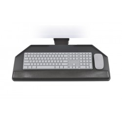 Standard Cut Corner Keyboard Tray and Arm System
