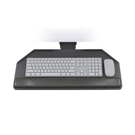 standard cut corner computer keyboard tray mounting system. Black Bedroom Furniture Sets. Home Design Ideas