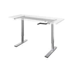 Q crank Sit Stand Adjustable Height Desk Base