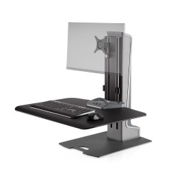 Winston-E Sit-Stand Workstation Single Monitor Mount
