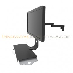 Innovative 9110-8-8-8209 LCD Monitor Wall Mount with Keyboard Tray
