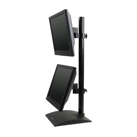 Innovative 9109-D Dual LCD Monitor Desk Stand