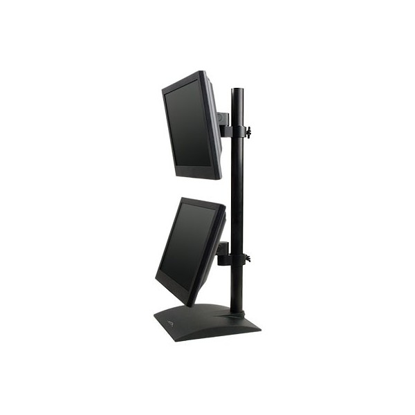 Innovative 9109 D Dual Lcd Monitor Desk Stand Vertical Lcd Mount