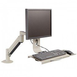 Innovative 7509 LCD Monitor and Keyboard Mount for Data Entry