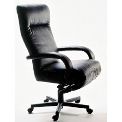 Kiri Executive Reclining Chair from Lafer - Leather Recliner