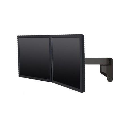 Innovative 9110 Dual LCD Monitor Wall Mount