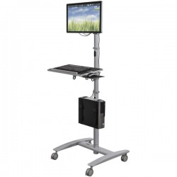 Beta Adjustable Height Sit or Stand Up Cart