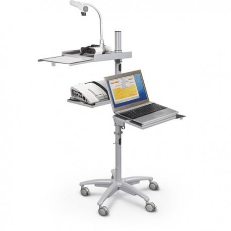 Alpha Mobile Laptop Cart Workstation