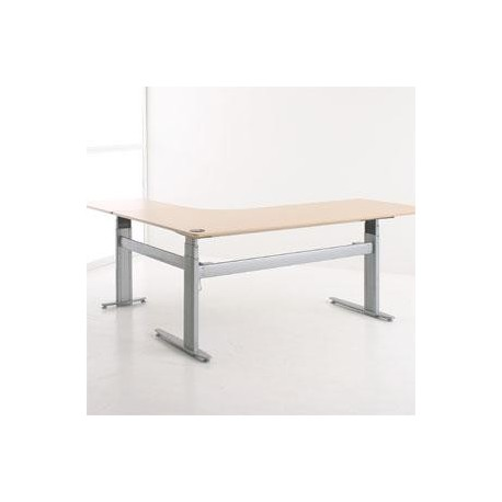 ConSet 501-29-3 Sit Stand Adjustable Height Electric Desk