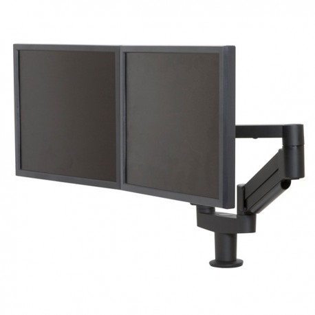 Dual 7000 LCD Monitor Arms with 8408 T-Mount