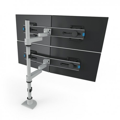 Innovative Quad LCD Monitor Mount with 28 Pole and FlexMount Kit